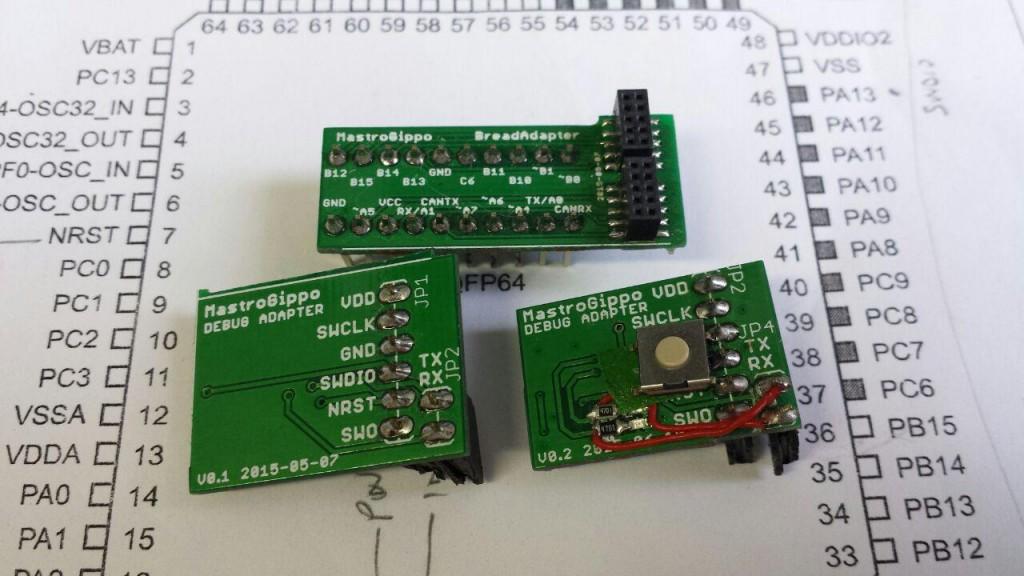Debug adapters